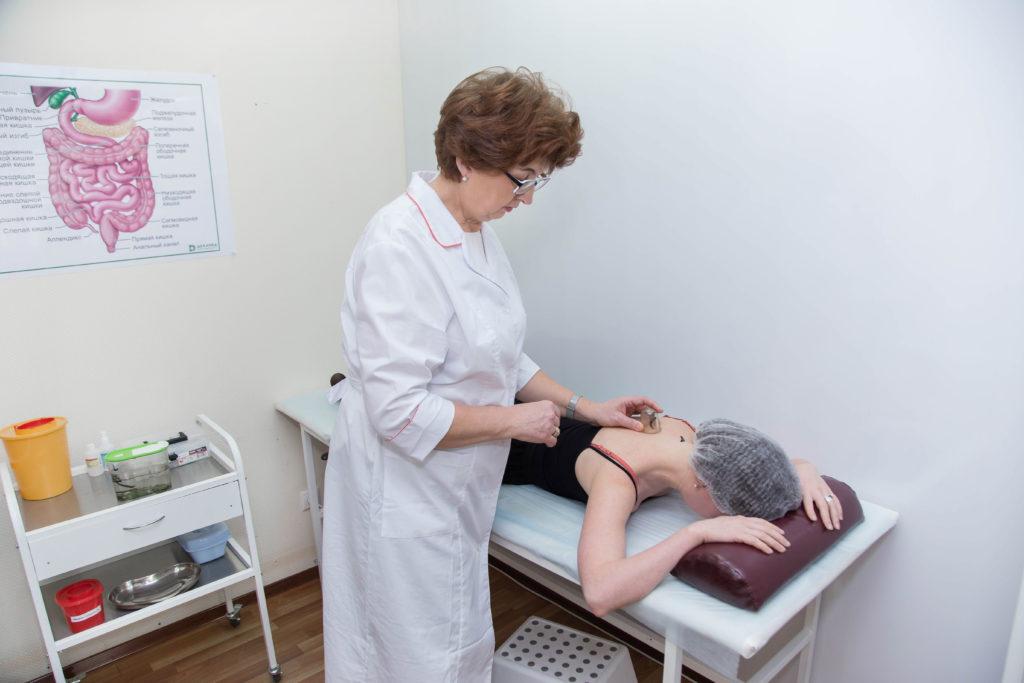 Гирудотерапевт клиники Микстура Плюс