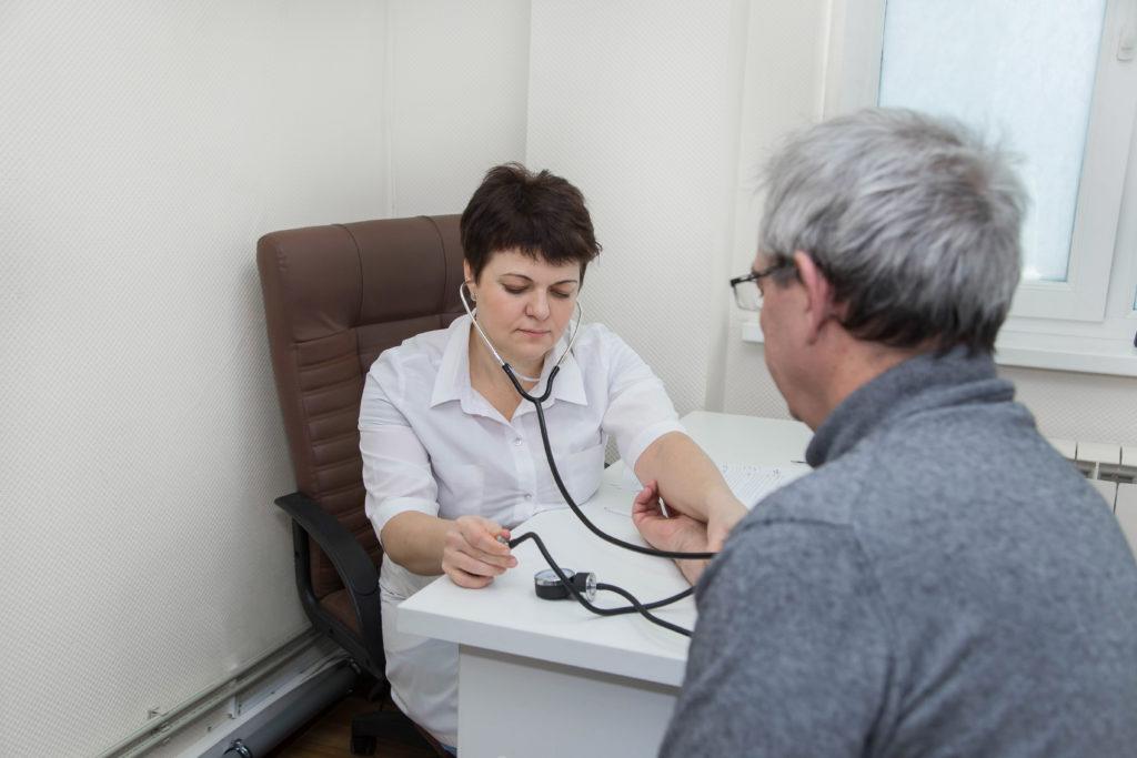 Прием терапевта клиники Микстура Плюс